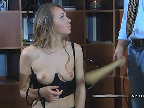 Amateur Blonde Gets Fetish Treatment Before Satisfying Her Hunky Master