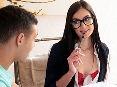 Stay Focused! Marley Brinx And Johnny The Kid – Brazzers HD