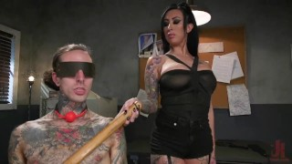 Snitches Get Fucked: Ruckus Captured, Beaten, And Fucked By Lily Lane