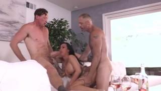 Bi MMF Lily Lane With 2 Bisexual Men